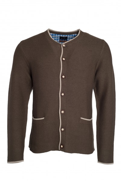 JN640 Men's Traditional Knitted Jacket